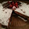 Chocoladefudgetaart met Oreo en Aardbei Recipe