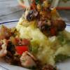 Sperziebonen stamppot met champignons-noten garnituur Recipe