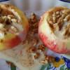 Appel uit de oven met walnoten Recipe