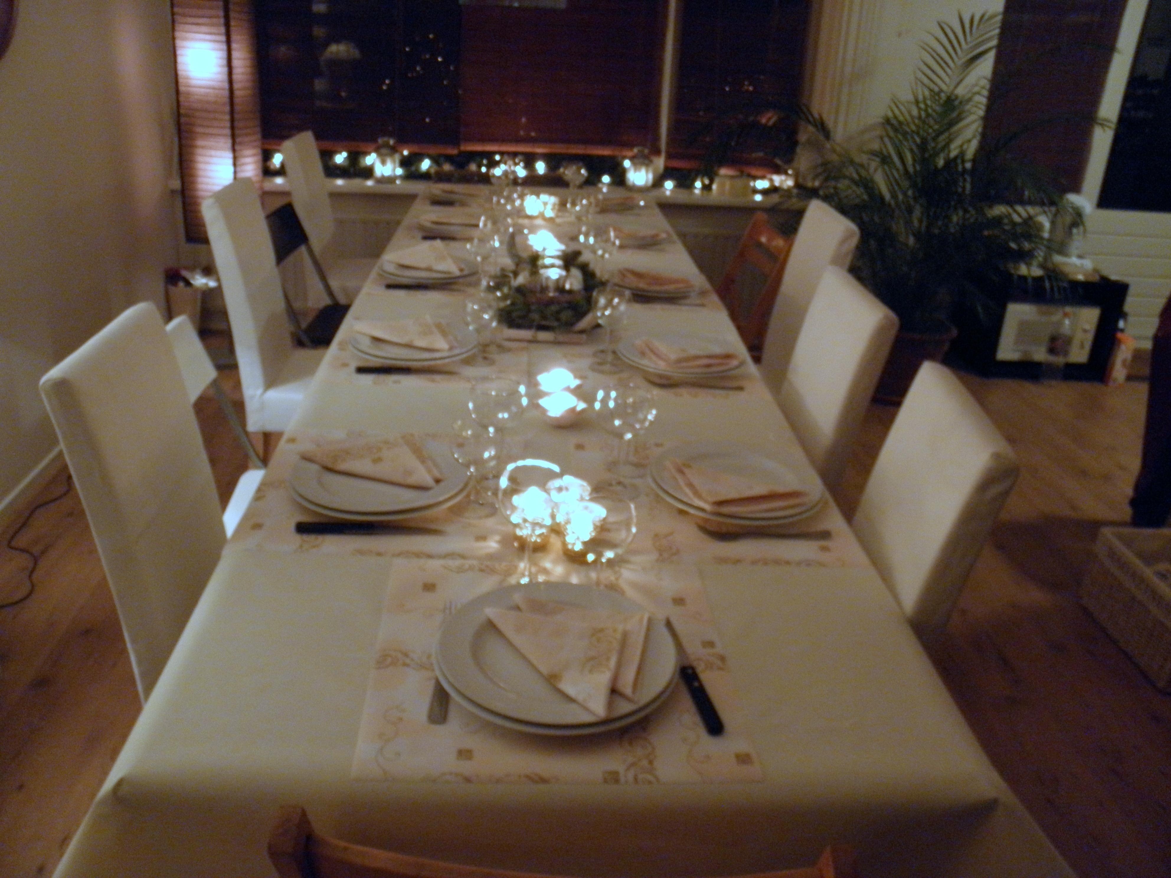 Kerstdecoratie voor op tafel : recepten van domy